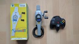 Der Nintendo 64-Angelcontroller - eine echte Kuriosität. (Credits: Johannes Gehrling)