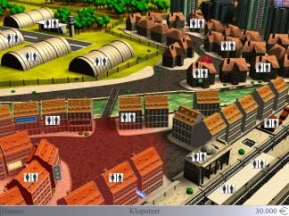 Je nach Gegend könnt ihr mit unterschiedlich vielen Kunden Rechnen. Am Bahnhof ist beispielsweise mehr los. (Credits: Screenshot)