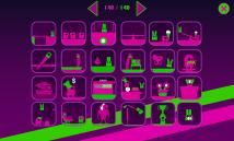 Insgesamt 140 Mini-Level bietet Easy Joe World, leider sind die ziemlich flott durchgespielt. (Credits: Screenshot)