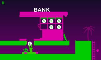 Erst die Bank überfallen... (Credits: Screenshot)