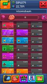 Im Wissensbaum könnt ihr außerdem eure Skills in bestimmten Video-Kategorien verbessern. (Credits: Screenshot)