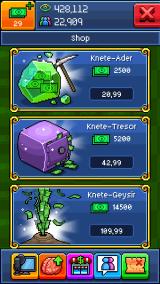 Typisch für viele Smartphone-Spiele: Die Preise für In-Game-Währung sind reinste Abzocke! (Credits: Screenshot)